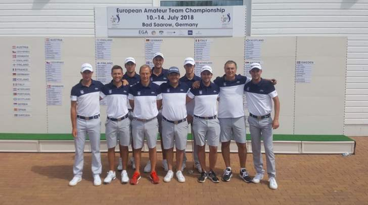 Equipe de France messieurs au championnat d'Europe