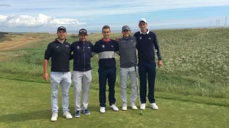 Le groupe France au British Amateur