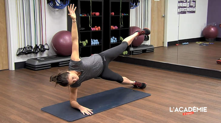 La séance fitness de Joanna Klatten : épisode 4