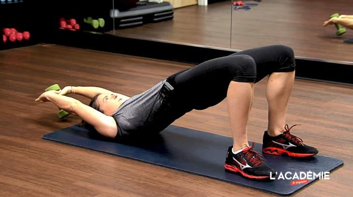 La séance fitness de Joanna Klatten : épisode 6