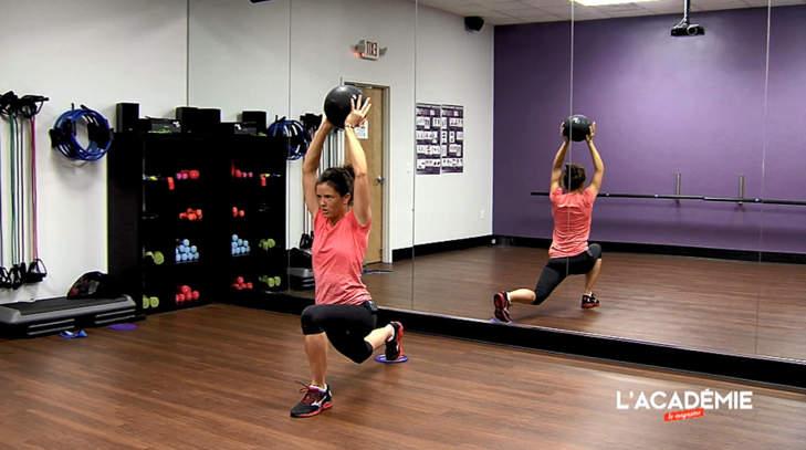 La séance fitness de Joanna Klatten : épisode 8