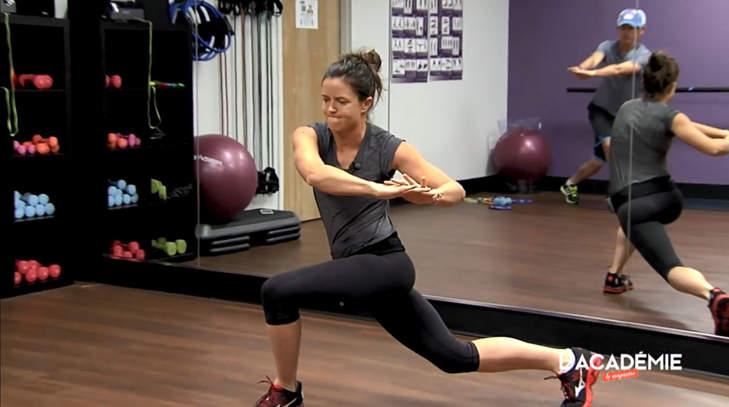 La séance fitness de Joanna Klatten : épisode 1