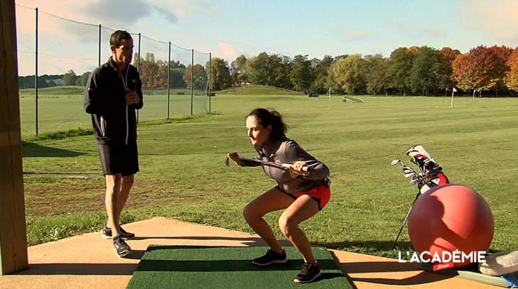 La séance fitness avec Justine Dreher : épisode 8