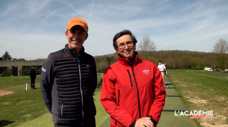 Golf avec les Stars : François Chatriot