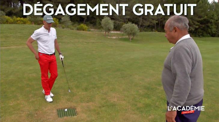 Règles de Golf : dégagement gratuit, mode d'emploi (n°9)