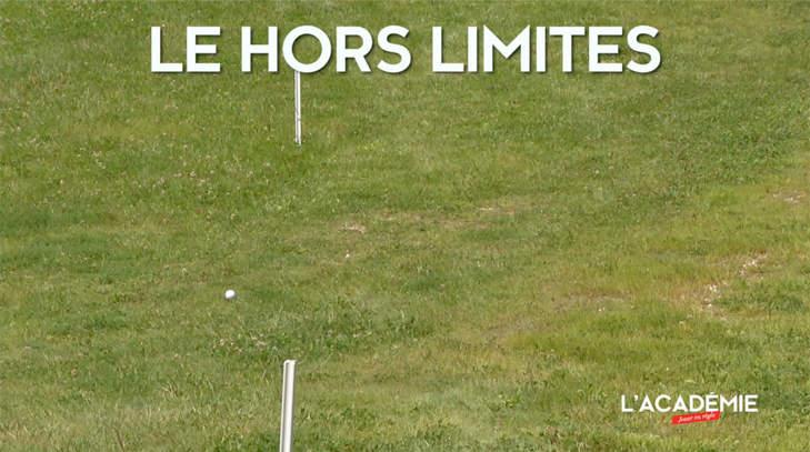 Règles de Golf : le hors limites (n°5)