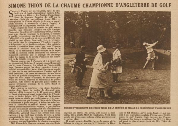 Miroir des Sports 1927